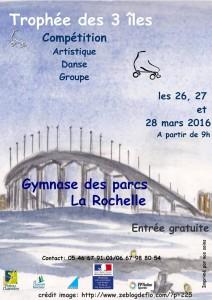 ARTISTIQUE – Trophée des 3 ILES 2016 – 7ème Edition