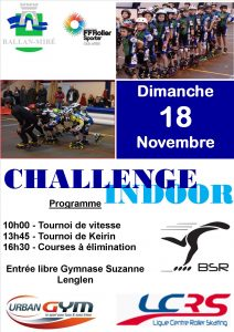 COURSE – Indoor 2018-2019 – Etape du BSR – Ballan-Miré