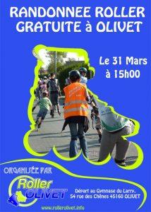 Randonnée Roller à OLIVET – Loiret
